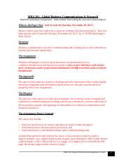 MBA 501.Week 8.Intercultural Networking.Lessons Learned Report Assignment Instructions.Frazier.doc