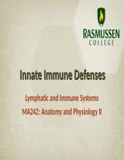 Module 04_Innate Defenses_Immune System.ppt