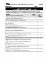 human-resource-management-major-worksheet