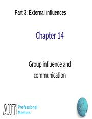 Week 5 Ch14 Group influence(2)