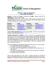 MGMT 301 Syllabus F08 FINAL