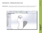 Solidworks Surface Cuts