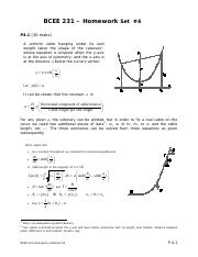 BCEE231- Homework Problems Set 4.pdf