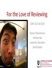 COM 321 fall 2015 final review v2