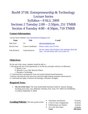 371 Syllabus Sections 2 & 4