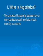 What is Negotiationgrad.ppt