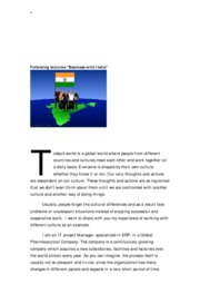 Business with India - Cultural differences