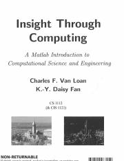 MATLAB-Insight-Through-Computing