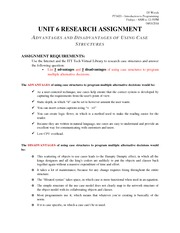 PT1420 Unit 6 - Research Assignment - Advantages and Disadvantages of Using Case Structures