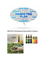 Cobram Estate Marketing plan