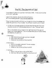 The Secrets of Soil Lecture notes