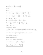 Differential Equations Lecture Work Solutions 182