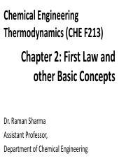CET Chapter 2 (CHE F213)