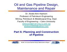 Part 6 PLANNING AND CONSTRUCTION OF PIPELINE (1).pdf