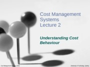 CMS_Lecture_2_-_Cost_Behaviour