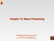 13-Query processing