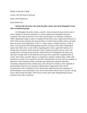 issues in policing essay bergen community college course crj 1 pages issues in policing essay 2