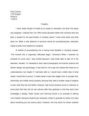 Education Essay
