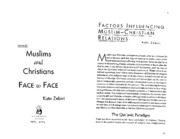 factors_influencing_muslim_christian_relations