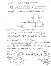 Lecture 8 Diode model DC and ac (1)