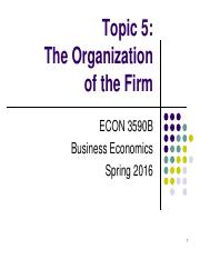 Topic 5. The Organization of the Firm.pdf