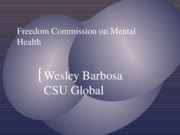 w_Barbosa_Freedom Commission on Mental Health