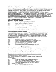 101 Guide Sheets  Spring 2011