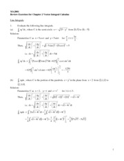 Ch.5 Assignment_Line Integral_Soln