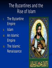 Honors Western CIvilization Islam Powerpoint