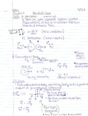 Chapter 4 Notes- Newtons Law