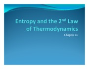 Entropy and the 2nd Law of Thermodynamics-2