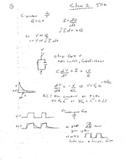 Study Guide on Capacitors
