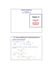 Ch 16_Reactions of Substituted Benzenes_P2