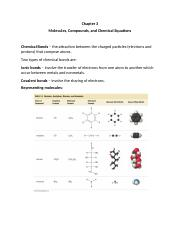 Chapter 3 Molecules%252c Compounds and Chemical Equations