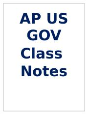 AP US Government Class Notes.docx