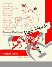 Lecture 3 - Red Plenty - discussions about F.Spufford's novel about what happened when the Soviets r