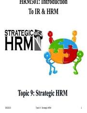 HRM501Topic 9.ppt