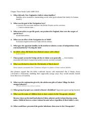 Study Guide Chapter 3 History.docx