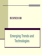emerging trends.ppt