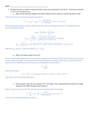 Lecture 12 Worksheet Solutions