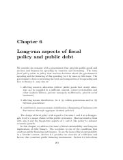LR FISCAL POLICY AND BUDGET DEBT