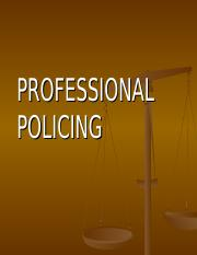PROFESSIONAL POLICING.ppt
