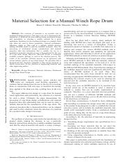 Material Selection for a Manual Winch Rope Drum.pdf