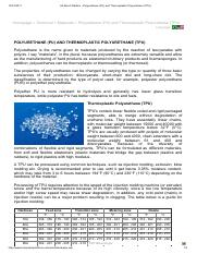 All About Plastics - Polyurethane (PU) and Thermoplastic Polyurethane (TPU).pdf