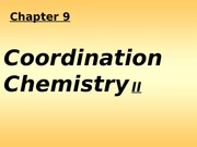 coordination chem chap 9(1)