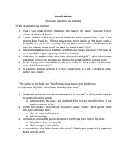 Bradstreet discussion questions (1).docx