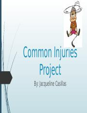 2.05 Common Injuries Project.pptx