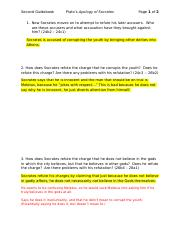Second Guidebook- Platos Apology With Notes.docx