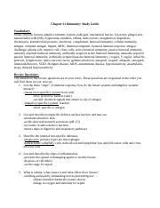 Chapter 21 Immunity Study Guide.docx