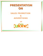 PRESENTATION-marketing-Ufone